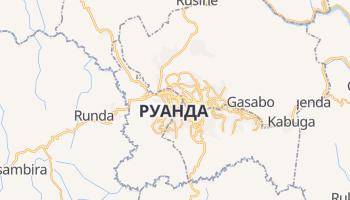 Кигали - детальная карта