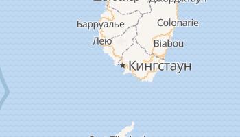 Кингстаун - детальная карта