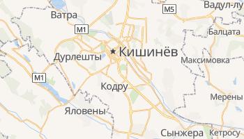 Кишинев - детальная карта