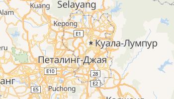 Куала-Лумпур - детальная карта