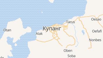 Купанг - детальная карта