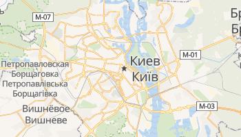 Киев - детальная карта