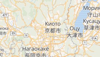 Киото - детальная карта