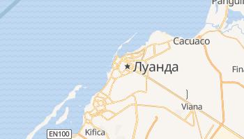 Луанда - детальная карта