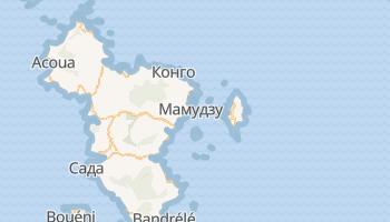 Мамудзу - детальная карта