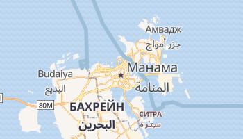 Манама - детальная карта