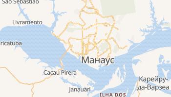 Манаус - детальная карта