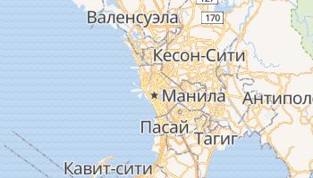 Манила - детальная карта