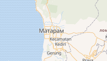 Матарам - детальная карта