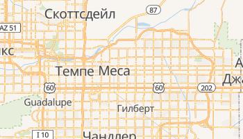Меса - детальная карта