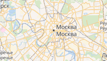 Москва - детальная карта