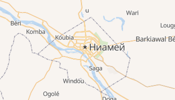 Ниамей - детальная карта