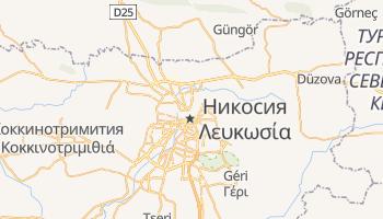 Никосия - детальная карта