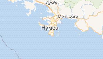 Нумеа - детальная карта