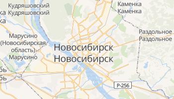 Новосибирск - детальная карта