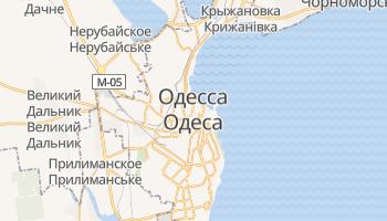 Одесса - детальная карта