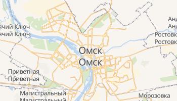 Омск - детальная карта