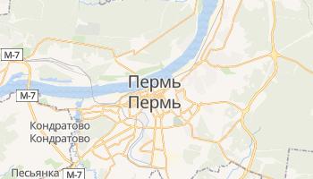 Пермь - детальная карта