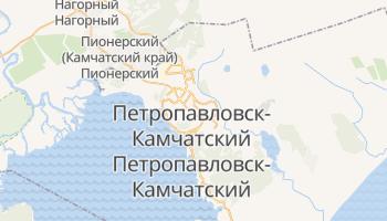 Петропавловск-Камчатский - детальная карта