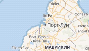 Порт-Луи - детальная карта