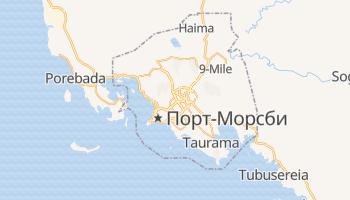 Порт-Морсби - детальная карта