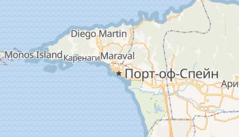 Порт-оф-Спейн - детальная карта