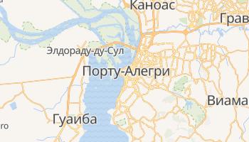 Порту-Алегри - детальная карта