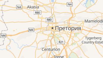 Претория - детальная карта