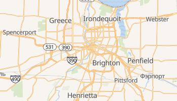 Рочестер - детальная карта