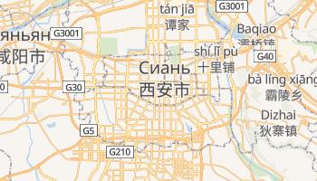 Сиан - детальная карта