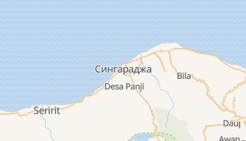 Сингараджа - детальная карта