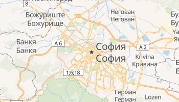 София - детальная карта