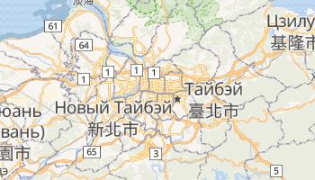 Тайбэй - детальная карта