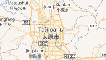 Тайюань - детальная карта