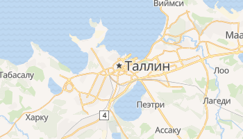 Таллин - детальная карта