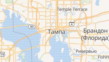 Тампа - детальная карта