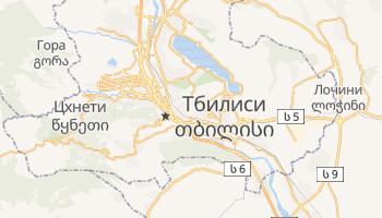 Тбилиси - детальная карта