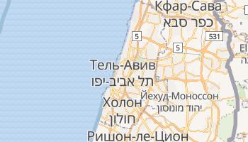 Тель-Авив - детальная карта