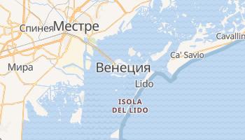 Венеция - детальная карта