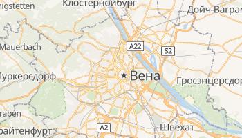 Вена - детальная карта