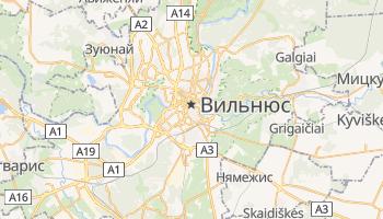 Вильнюс - детальная карта