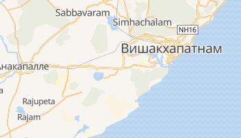 Вишакхапатнам - детальная карта