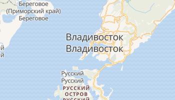 Владивосток - детальная карта