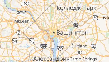 Вашингтон - детальная карта