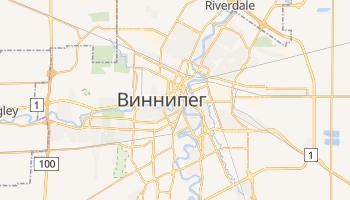 Виннипег - детальная карта
