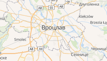Вроцлав - детальная карта