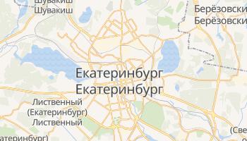 Екатеринбург - детальная карта