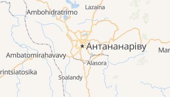 Антананаріво - детальна мапа