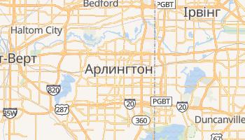 Арлінґтот - детальна мапа