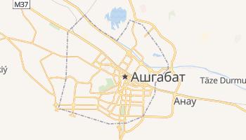 Ашхабад - детальна мапа
